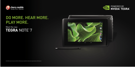 Cherry Mobile TEGRA NOTE 7 out now!