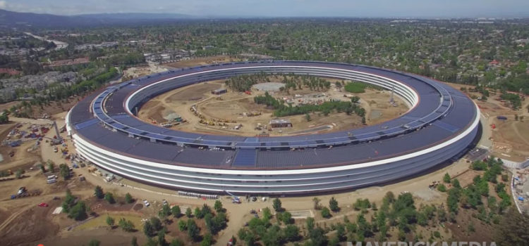 Apple's $5Billion campus nearing completion
